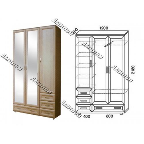 Шкаф многоцелевой 161 «МС»