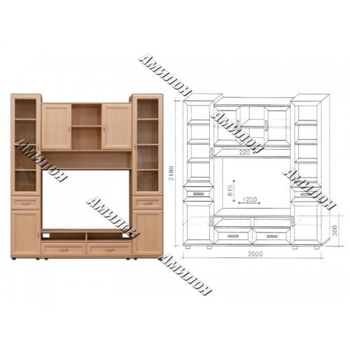 Шкаф многоцелевой 162 «МС»