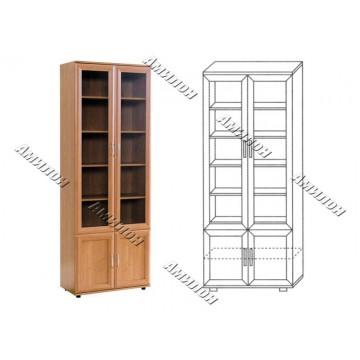 Шкаф для книг 108 «МС»