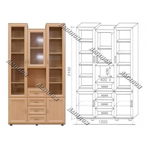 Шкаф многоцелевой 163 «МС»