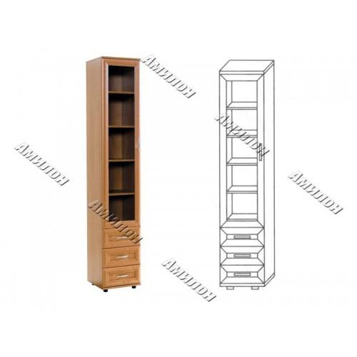 Шкаф с тремя ящиками 112 «МС»