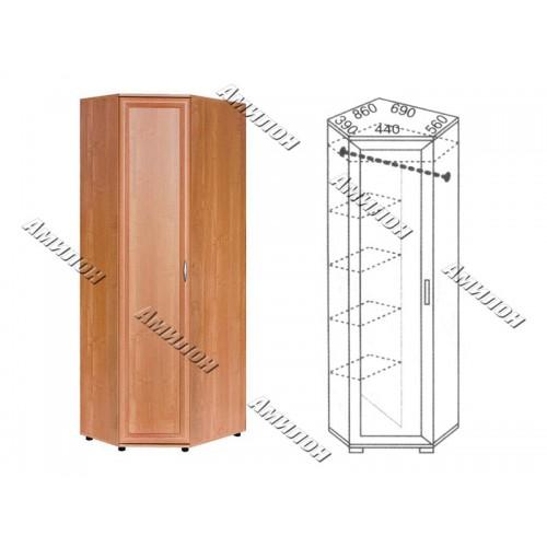 Шкаф угловой 104 «МС»