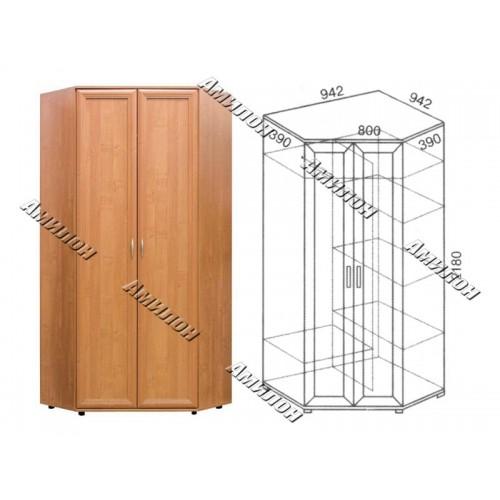 Шкаф угловой 146 «МС»
