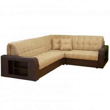 Угловой диван «Аврора-2» (с полкой)
