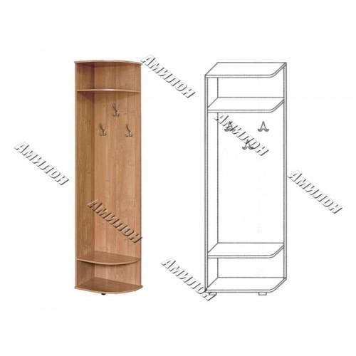 Стеллаж-вешалка 123 «МС»