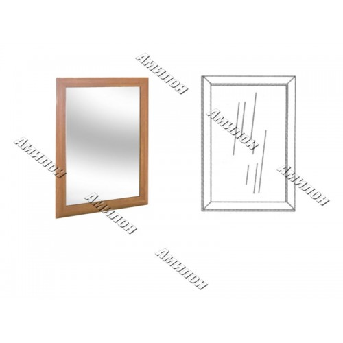 Зеркало в раме 127 «МС»